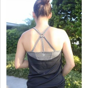 MPG Tops - Draped fitness tank